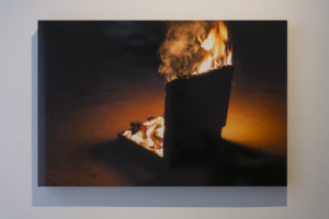 Axel Petersén OOF BBQ Fina Art Print on MDF 60 x 90 cm 2018