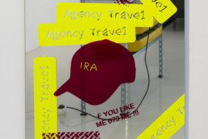 Ilja Karilampi IRA Selfadhesive foil on mirror 60 x 96 cm 2018
