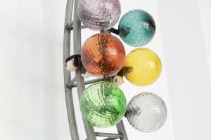Funtomia, steel, glas, cord, skatewheels, 2018III