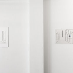 Philip Poppek_louise & mirror 1 (Husslehof), 2017_Husslehof