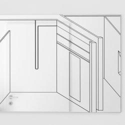 Philip Poppek_mirror 1 (Husslehof), 2017_Husslehof
