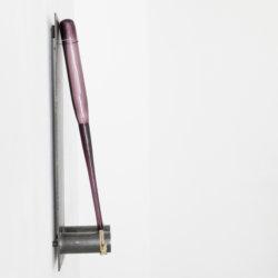 Disziplinator, steel, glas, cord, 85x20x20cm, 2016II