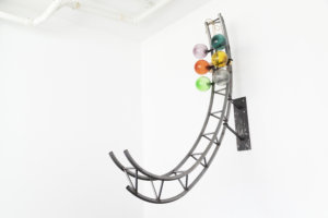 Funtomia, steel, glas, cord, skatewheels, 2018II