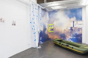 Ilja Karilampi, Axel Petersén, Ira Shalit AGENCY TRAVEL  Installation view Husslehof 24.11.2018 - 20.01.2019
