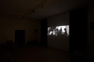 Jan Bonny & Alex Wissel_Von da an, 2017, Video_Installation SIKS_Hunches_Husslehof 2017