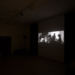 Jan Bonny & Alex Wissel_Von da an, 2017, Video_Installation SIKS_Hunches_Husslehof 2017