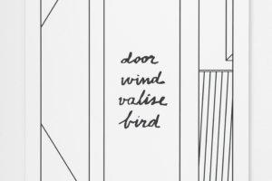 Philip Poppek_door,wind,valise,bird, 2017_Husslehof