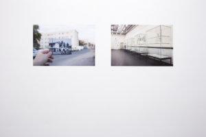 Franziska Wildt_Kamerun Arbeitersiedlung II & Bildarchiv der Deutschen Kolonialgesellschaft_digitaler Fotoprint, 2017_Hunches_Husslehof 2017